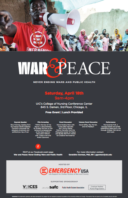 War & Peace - April 18, 2015