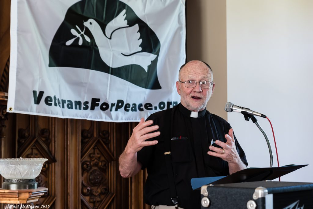 VFP Member Rev. David Couper, Photo by Paul McMahon